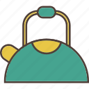 coffee, hot beverage, kettle, tea, tea time icon