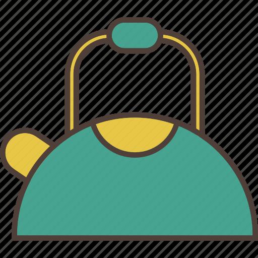 coffee, hot beverage, kettle, tea, tea time icon