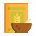cereal, oat, oat meal, wheat icon