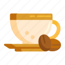 coffee, coffee beans icon