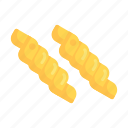 fusilli, noodles, pasta icon