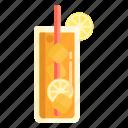 drink, ice lemon tea, lemon, lemon tea, tea