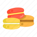bun, buns, macaroon, pastry