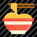 chopstick, noodle, noodles