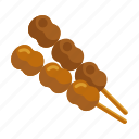 grill, roasted, satay icon