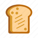 bread, toast icon