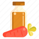 carrot, vegetable, vegetarian icon