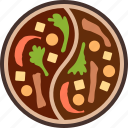 chinese, cuisine, food, hot, hotpot, pot, steamboat icon