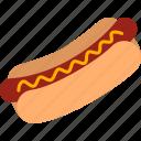 dog, food, frank, frankfurter, hot, hotdog, sausage