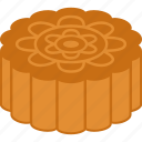 autumn, cake, festival, mid, mid-autumn, moon, mooncake icon