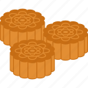 autumn, cake, cakes, festival, mid-autumn, moon, mooncakes icon