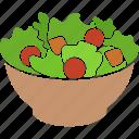 bowl, garden, meal, salad, vegan, vegetables, vegetarian