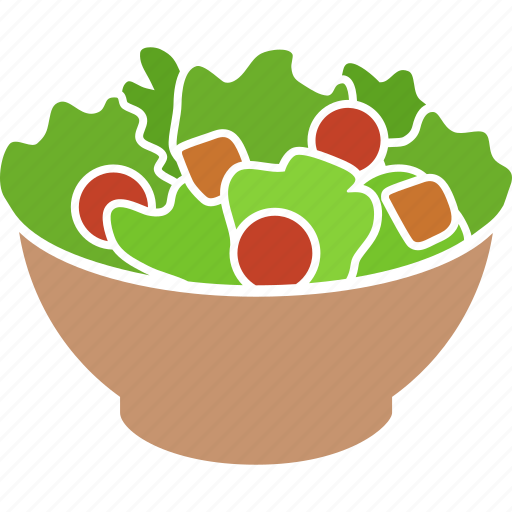 bowl, garden, meal, salad, vegan, vegetables, vegetarian icon
