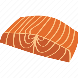 dinner, fish, food, salmo, salmon, seafood, steak icon