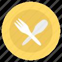 dining, fork, knife, napkin, restaurant