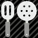 cooking tools, kitchen turner, kitchen utensils, slotted spatula, turning spatula