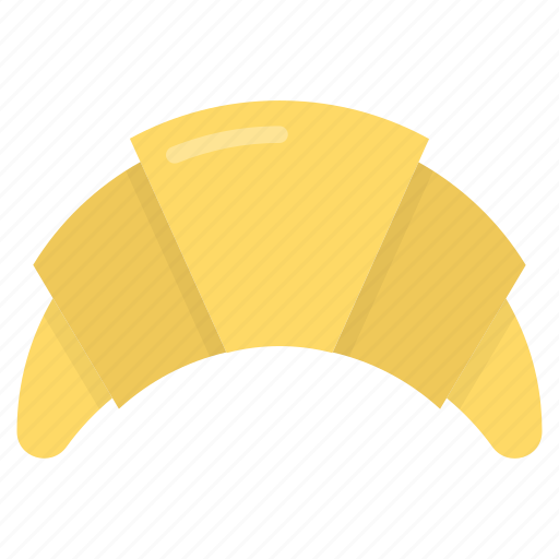 bakery food, croissant, croissant dough, pastry, sweet snack icon
