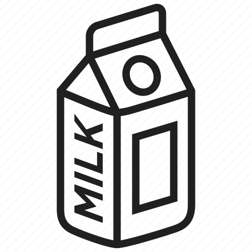 beverage, bottle, drink, food, glass, healthy, milk icon