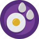 eggs, food, protein icon