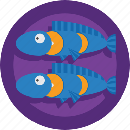 fish, fishes, food icon