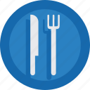 food, fork, knife, restaurant icon