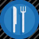 food, fork, knife, restaurant