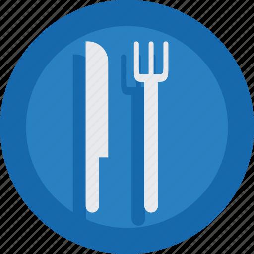 food, fork, knife, restaurant icon