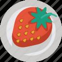 strawberry, fruit, sweet