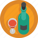 alcohol, drink, french wine, glass, red wine, wine icon