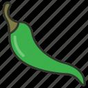 chili, chili pepper, food, hot chili, spice icon
