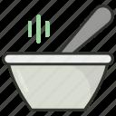 hot food, hot soup, meal, soup, soup bowl icon