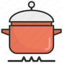 cooking, cooking pot, cookware, food preparation, meal