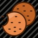 cookie, dessert, sweet, bake, bakery