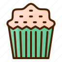 cupcake, dessert, sweet, bake, bakery, cake