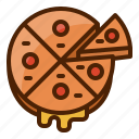 pizza, food, bake, bread, fast