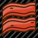 bacon, food, breakfast