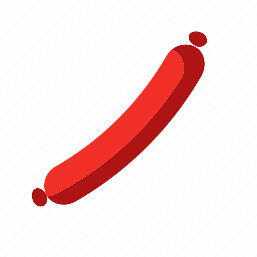 food, meat, sausage icon
