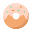 donut, doughnut, sweet, food, dessert