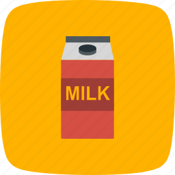 drink, milk, pack, packet icon