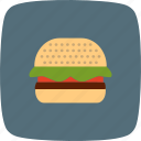 burger, fastfood, food, hamburger icon