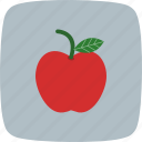 apple, eat, fruit, healthy icon