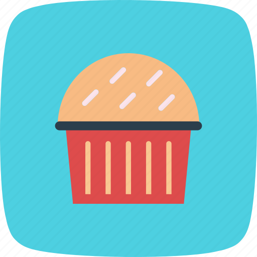 cake, cup cake, cupcake, muffin icon