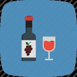 bar, bottle, champagne, wine icon
