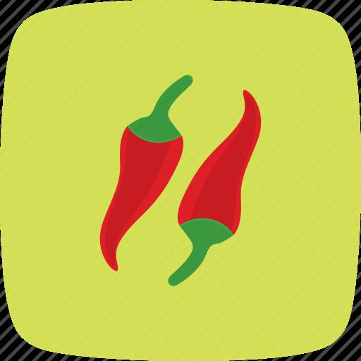 chilli, pepper, red, spicy icon