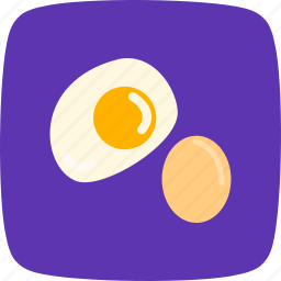 breakfast, egg, fried icon