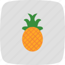 ananas, fruit, healthy, pineapple icon