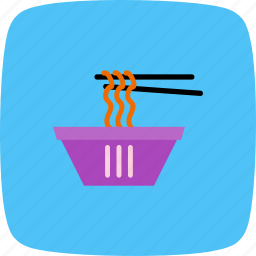 bowl, chinese, chopsticks, noodle, spaghetti icon