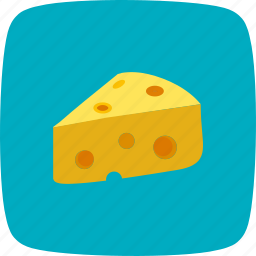 cheese, dairy, fast, food, meal, piece icon
