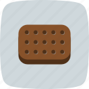 biscuit, biscuits, cookie, snack icon
