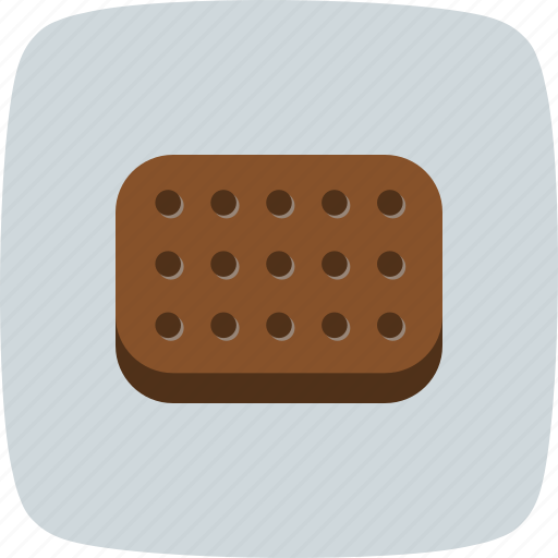 bakery, biscuits, cookies, cracker, food, snack icon